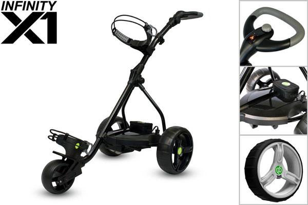 Infinity X1 Electric Golf Trolley